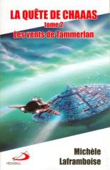 Cover of Les vents de Tammerlan, GG award finalist and Aurora Award recipient in 2009