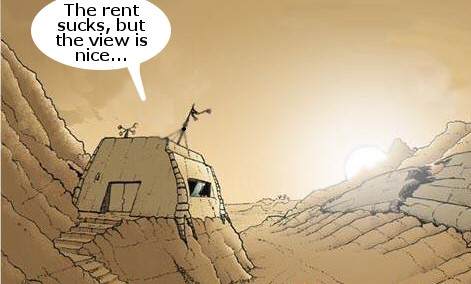 Living in a bunker...