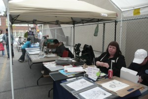 The Free comic book day at Steetsville