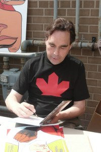 Richard Comely, creator of Captain Canuck!