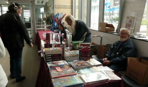 Image Collections table at the Mississauga Bookfest