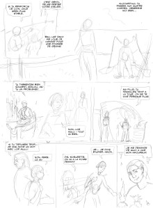 Adalou page 15 first sketch