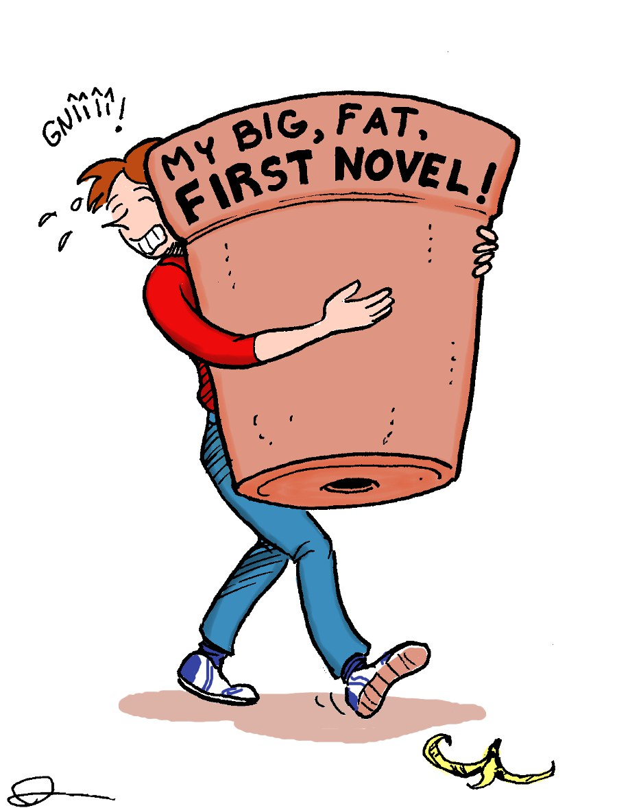how to get your first novel published