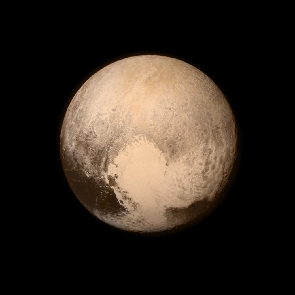 PLuto surprised everyone with this heart-shaped geological  feature