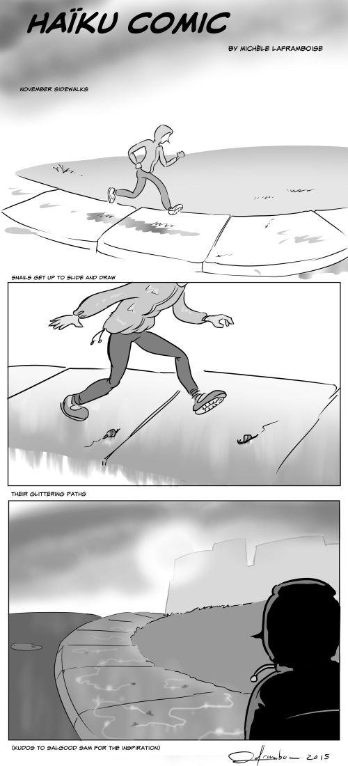 Fall Haiku in Comic